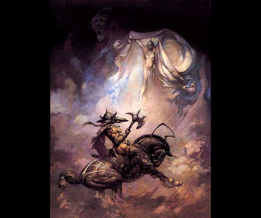 Galeria de Arte: Ficção & Fantasia 1 Frank%20Frazetta-Apparition