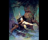 Frank Frazetta-Captive Princess
